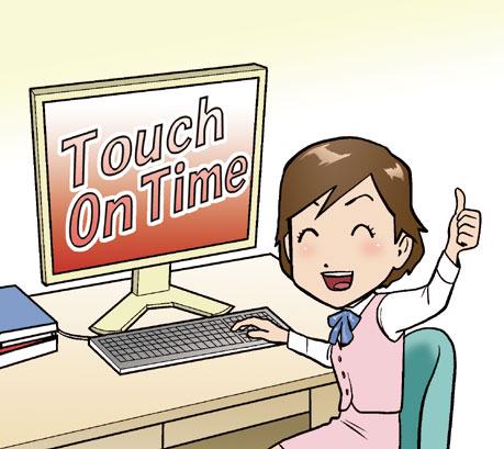 クラウド勤怠管理 touch on time事例 飲食業a社様 ハコクラ nifty